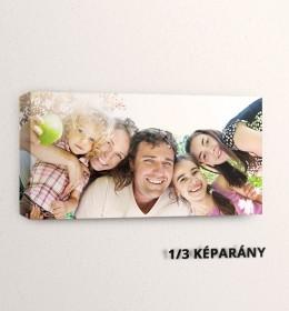 1:3 képarányú vászonfotók