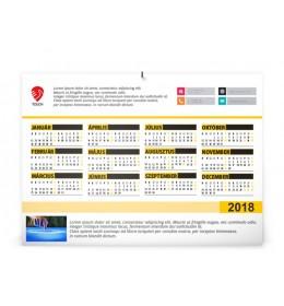 Céges éves naptár